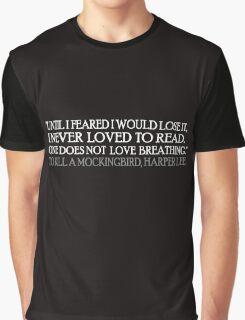 Reading Mockingbird 2 Graphic T-Shirt