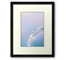 Surface*pastel Framed Print