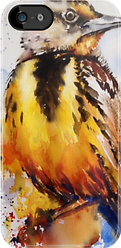Meadowlark IPhone Case by Karl Fletcher