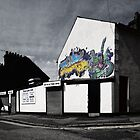 Graffiti Cafe by Nigel Bangert