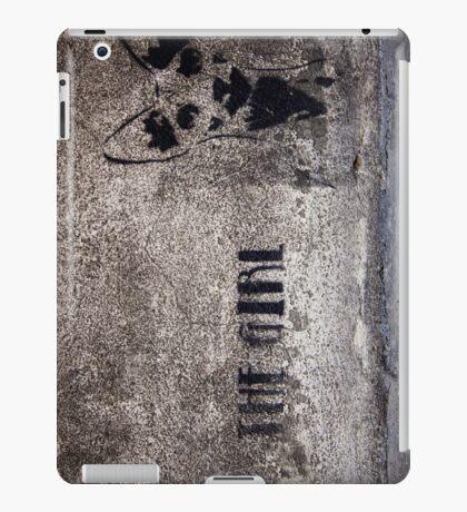 The Girl - graffiti iPad Case/Skin