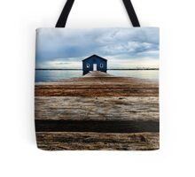 Lowdown on the Boatshed Tote Bag