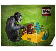 The Chimp Champ Poster