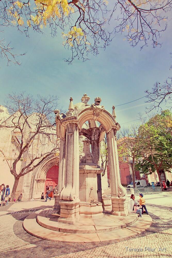chafariz do carmo. by terezadelpilar~ art & architecture