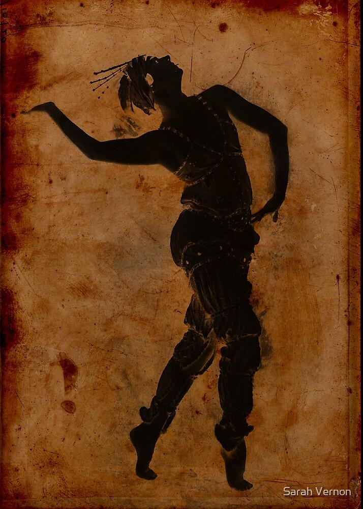 Dancing in Greek by Sarah Vernon