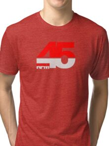45 RPM - DJ Music Vinyl Tri-blend T-Shirt