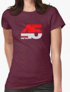 45 RPM - DJ Music Vinyl Womens Fitted T-Shirt