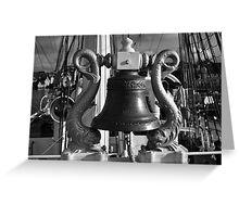 cast iron communicator Greeting Card