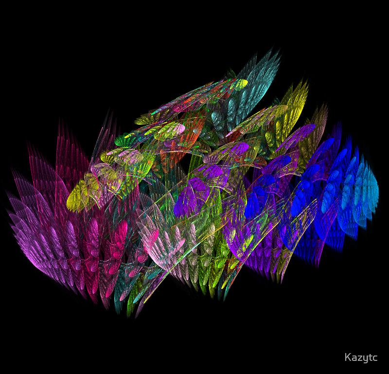 Rainbow Colony  by Kazytc