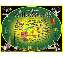 Willowbrook Cottages Photographic Print