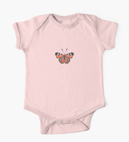 Butterfly Vinyl - Music Insect One Piece - Short Sleeve