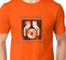 Save Vinyl - Record DJ Music Unisex T-Shirt