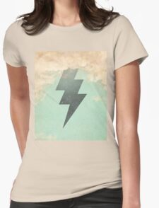 Bolt from the blue Womens Fitted T-Shirt