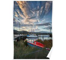 Early Morning, Franklin, Tasmania #3 Poster
