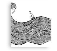 Bobbing Along Canvas Print
