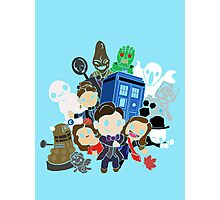 Doctor Who Series 7 Design Photographic Print