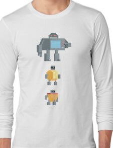 Incredible Change-Bots: Microwave Long Sleeve T-Shirt