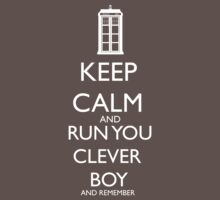 Run you clever boy Kids Clothes