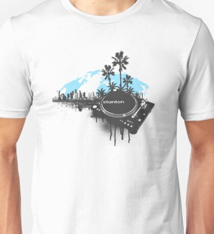 Stanton Miami City Turntable Unisex T-Shirt