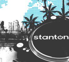 Stanton Miami City Turntable Sticker