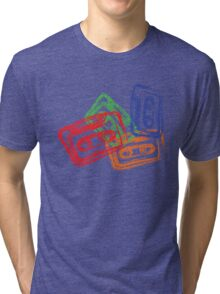 Retro Mix Tapes Tri-blend T-Shirt