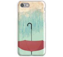 Saving the rain iPhone Case/Skin