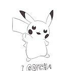 Pikachu - Gotcha - 04 by KaorieLilyse