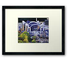 London Embankment Station Framed Print