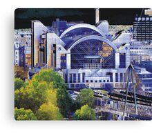 London Embankment Station Canvas Print