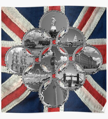 Diamond City that is London Poster