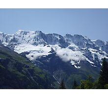 Snowy Alps Photographic Print