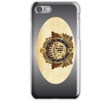 VINTAGE BEER BADGE iPhone Case/Skin