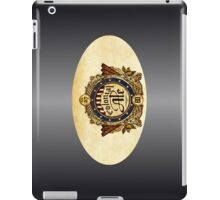 VINTAGE BEER BADGE iPad Case/Skin