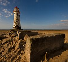 Talacre lighthouse. by fotopro