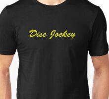 Disc Jockey Gold Unisex T-Shirt