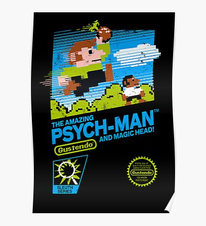 The Amazing Psych-Man!! (and Magic Head) Poster