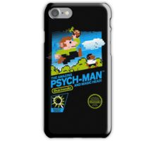 The Amazing Psych-Man!! (and Magic Head) iPhone Case/Skin