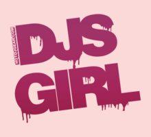 DJs Girl Graffiti One Piece - Short Sleeve