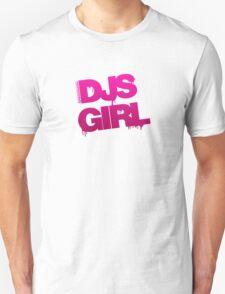 DJs Girl Graffiti T-Shirt