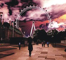 The London Eye by himmstudios
