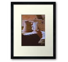 A Monk's Quill Framed Print