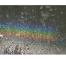 Rainbow Abstract Photographic Print