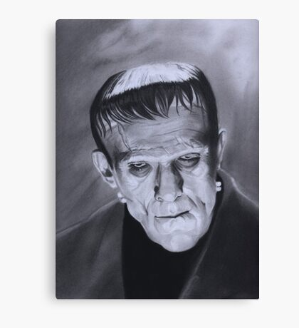 The Frankenstein Creature Canvas Print