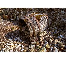 Barrel Photographic Print