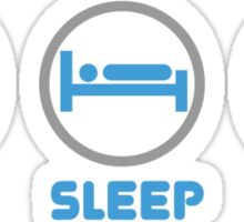 Eat Sleep Mix DJ Shirts Sticker