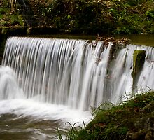 Weir at Stockghyll, Ambleside by LamCatPhoto
