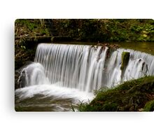 Weir at Stockghyll, Ambleside Canvas Print
