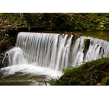 Weir at Stockghyll, Ambleside Photographic Print