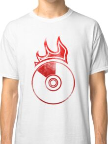 Flaming Vinyl Classic T-Shirt