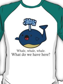 Whale Puns  T-Shirt